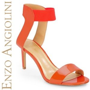 • NWOT Enzo Angiolini Patent Leather Sandals